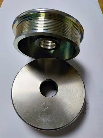 双槽型金属压盖